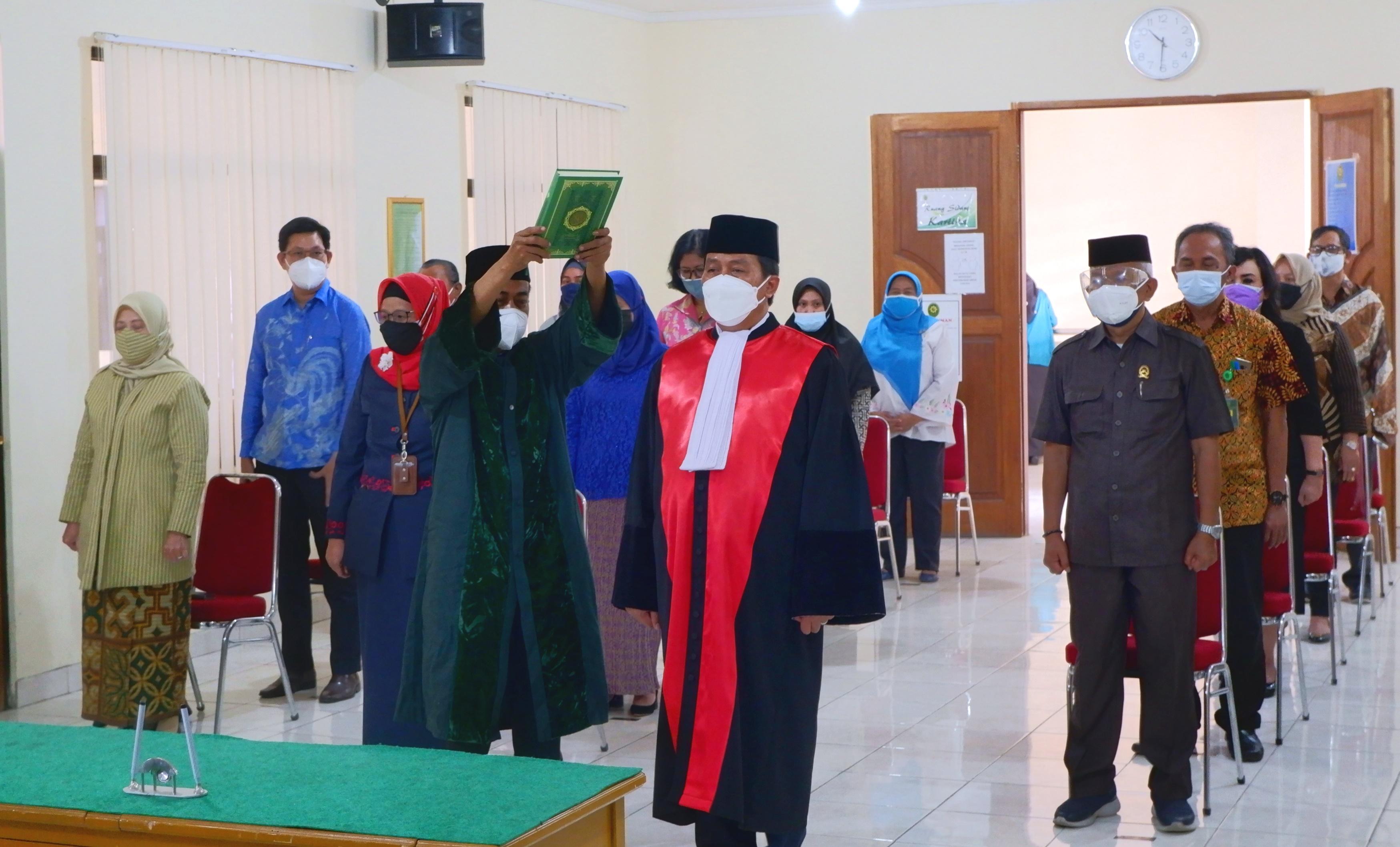 Pelantikan Wakil Ketua Pengadilan Negeri Bekasi Kelas IA Khusus